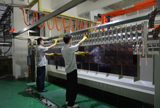 PCB factory Auto Pattern Plating Line