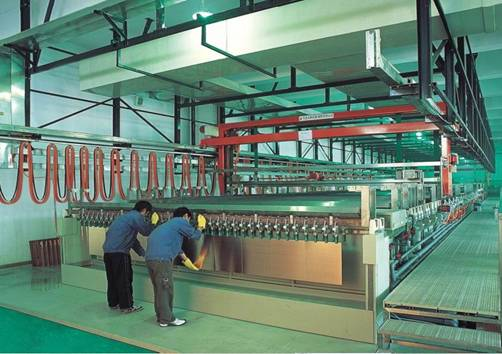 PCB factory Auto Panel Plating Line