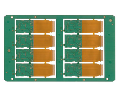 4 Layers Rigid-Flexible PCB, PCB factory,China PCB manufacturer,Printed Circuit Board supplier,PCB production,China PCB factory