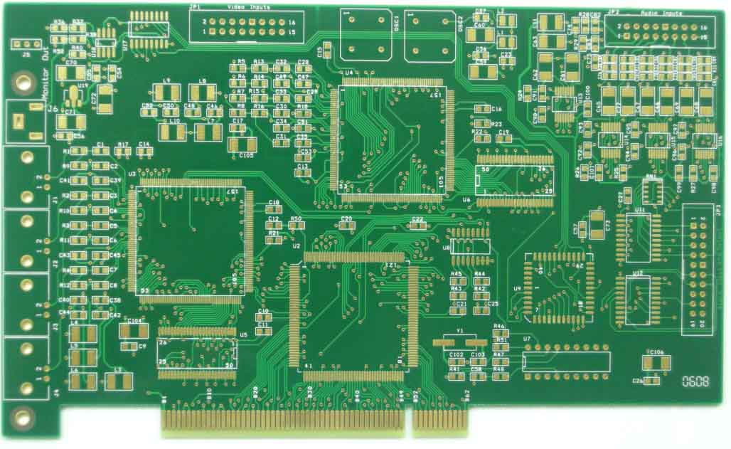 8 layers gold finger PCB, gold finger PCB, PCB factory,China PCB manufacturer,Printed Circuit Board,PCB production,China PCB factory, PCB prototyping